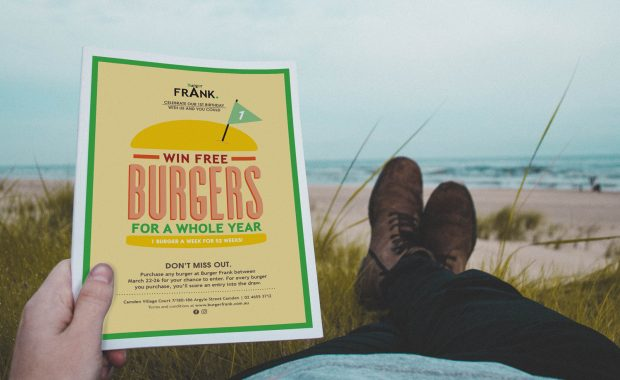 Burger Frank Promo by Your One and Only