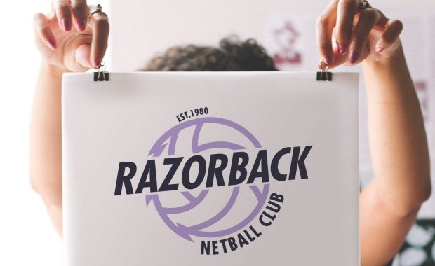 Razorback Netball Club Branding by Your One and Only