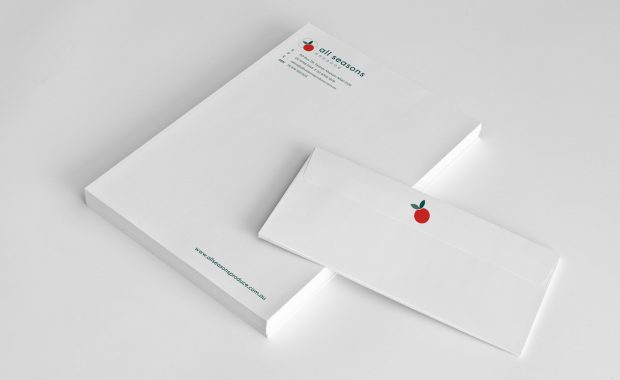 All Seasons Produce Stationery