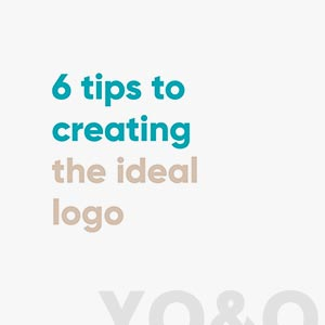 Download our 6 tips to the ideal logo