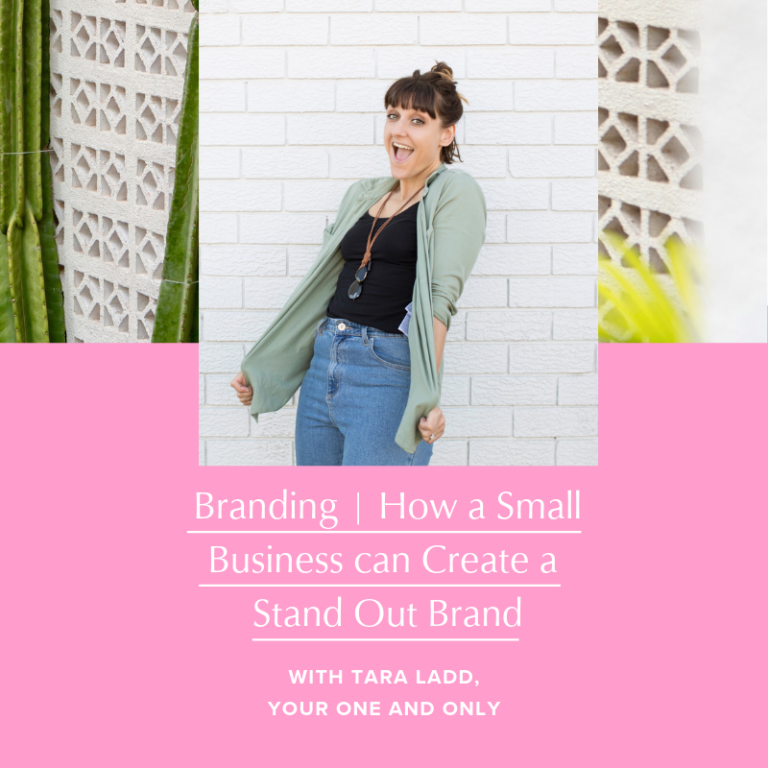 How to create a stand out brand by Tara Ladd and Stevie Dillon